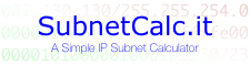 SubnetCalc.it
